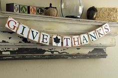 Craft a Colorful Holiday with an Easy-to-Make Thanksgiving Banner