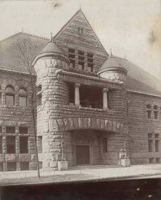 The Chicago Historical Society moved to 632 N. Dearborn in 1896. This building, designed by Henry Ives Cobb, became home to the Excalibur nightclub in 1986, after the Society moved locations in 1932.