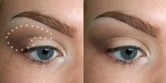 Gorgeous Makeup: Tips and Tricks With Eye Makeup and Eyeshadow – Makeup Design Ideas Eyeshadow Basics, Blending Eyeshadow, How To Apply Eyeshadow, Eyeshadow Tutorials, Makeup Tutorials, Applying Eyeshadow, Simple Eyeshadow, Natural Eyeshadow, Eye Makeup Tips
