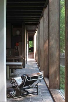 Eddy François (+) & Caroline De Wolf , architects own house, Deurle/St.-Martens-Latem, 2000-02 photography: Jean-Luc Laloux