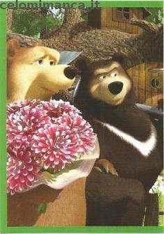 Masha and the bear - Masha e Orso: Fronte Figurina n. 85 -