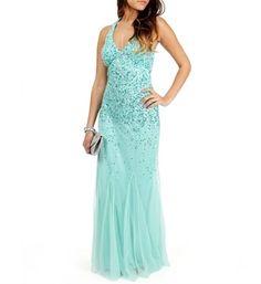 Mint Green Prom Evening Dresses #mint #green #dress www.loveitsomuch.com