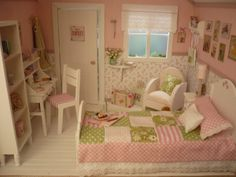 Casa de muñecas decorada. 1:6 para blythe pullip por WearingDreams