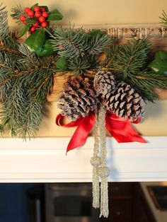 Upcycle Old Molding Into Rustic Holiday Decor - Our 65 Favorite Handmade Holiday Decorating Ideas on HGTV