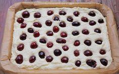 Prajitura cu branza dulce si cirese - Desert De Casa - Maria Popa Anna, Cookies, Desserts, Food, Biscuits, Meal, Deserts, Essen, Hoods