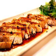 マグロガーリックステーキ