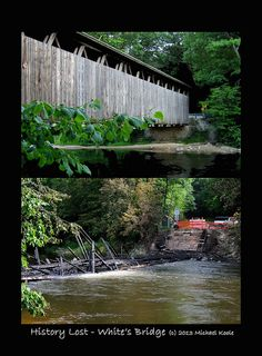 History Lost at White's Covered Bridge