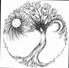 tree of life back tattoo - Google Search