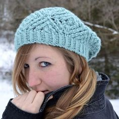 Frostbitten Beret Pattern - Knitting Patterns and Crochet Patterns from KnitPicks.com