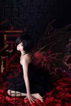 Cosplay   Tokyo Ghoul - Kirishima Touka