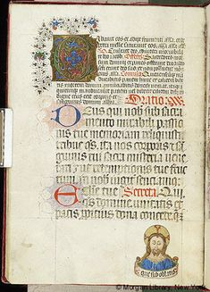 Missal, M.450 fol. 65v - Images from Medieval and Renaissance Manuscripts - The Morgan Library & Museum