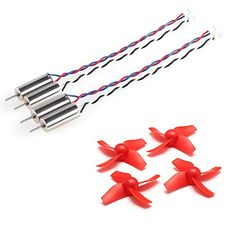 Bangcool 4pcs 6x15mm Fast Motors and Spares Parts Blades Propellers for Blade Inductrix Tiny Whoop Eachine E010 Quadcopter Drone >>> See this great product.