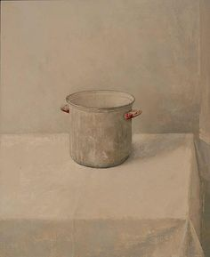 Vivian van der Merwe, Study for Still-life with Studio Gesso Pot, (2006)