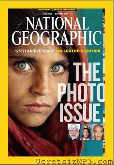 Octubre 2012 ,Recopilatorio de las mejores portadas para el 125 aniversario de la revista  National Geographic