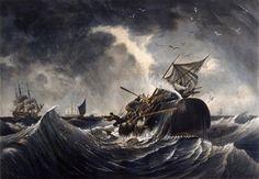 Tableau de Garneray évoqué par Melville dans Moby Dick