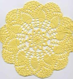 this is the crochet pattern that my granny used to make. It was all she knew how to crochet. Can't wait to make a few like hers!