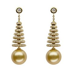 Baggins' South Sea pearl earrings