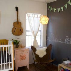 Dormitorio vintage para Bebe infantildecora.blogspot.com