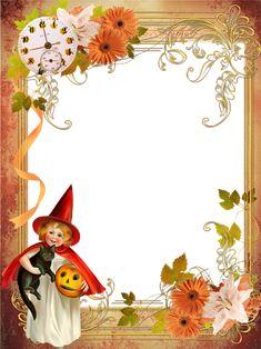 Little witch Halloween Photo Frames, Halloween Photos, Spooky Halloween, Vintage Halloween, Witch Photos, 2021 Calendar, A Pumpkin, Scary, Christmas Ornaments