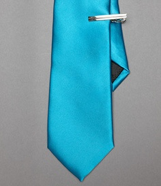 <3 this colour; had it for my wedding with Black, white & silver - Turquoise Tie