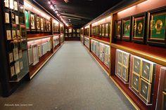 The original Gold and Platinum Trophy Room at Graceland by AleksandraR, via Flickr #Elvis #Graceland