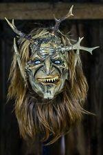 Krampus krampusmaske dämonen hexe perchten schnitzen hörner fell perchtenmaske