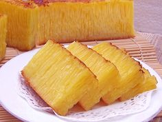 Another preview of Bika Ambon. Very sweet and beautiful texture.
