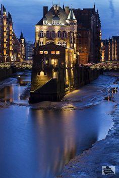 Water Castle, Hamburg, Germany