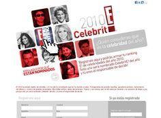CelebritE!, activación online