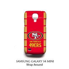 San Francisco 49ers Samsung Galaxy S4 Mini Case Wrap Around