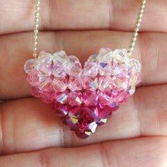 Ombre Puffy Heart Addendum Tutorial / Instructions by annemade, $3.00