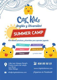 City Kids ¡Campamento de Verano!