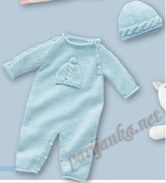 Wool knit onesie Baby girl bodysuit Knit romper girl Baby kThis Pin was discovered by VаlZoom in (real dimensions: 436 xDo it yourself and Crafts Baby Knitting Patterns, Knitting For Kids, Crochet For Kids, Baby Patterns, Baby Pullover, Baby Cardigan, Baby Romper Pattern, Pull Bebe, Baby Overalls