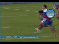 Ronaldinho .... I almost wanted to cry ... The best