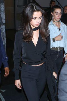 December 3: Selena leaving Catch LA Restaurant in West Hollywood, California [HQs]