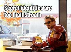 tony stark, stop it...