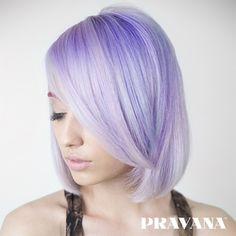 CANDY CRUSH | #pravana #pastelhair #lavender #lavenderhair #lusciouslavender #purplehair #celebrityhair #tutorial #getthelook