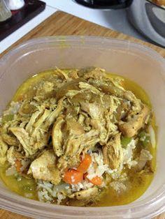 5-Ingredient Paleo: Easy Crockpot Chicken Curry