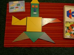 Inspired Montessori and Arts at Dundee Montessori: The Constructive Triangles - The Rectangle Box