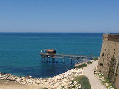 Termoli, graziosa città affacciata sulla costa dei trabucchi, antichissimi strumenti di pesca sul Mar Adriatico