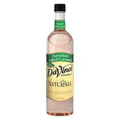 DaVinci Gourmet Hawaiian Salted Caramel All Natural Coffee Flavoring Syrup - Nummilicious!!!