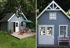 Schwedenhaus mit Terrasse - Hier fühlen sich Gäste wohl.
