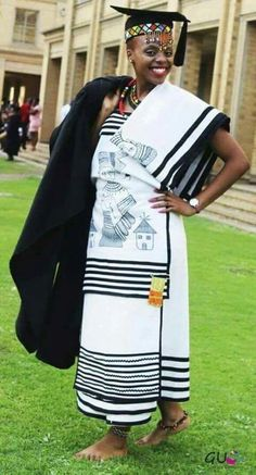 ❤ ❤ Heritage XhosaTraditional Attire ❤ ❤ Traditional Dresses Designs, Traditional Wedding Dresses, Xhosa, African Attire, African Fashion, Plus Size Outfits, Designer Dresses, Saree, Celebs