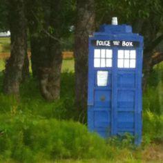TARDIS sighting in Homer, Alaska!