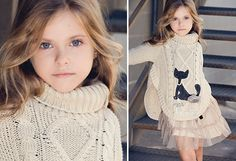 Lourdes Paterna. From Spain -                                                                        Lourdes 100% Cotton Knitted Boy's Bodysuit                                 Lourdes 100% Cotton Cat Print Knitted Girl's Tunic                                 Lourdes 100% Cotton Striped Boy's...  #Blazer, #Blouse, #Bodysuit, #Charm, #Clock, #Dress, #Shirt, #Socks, #Sweater, #Tights, #Vest