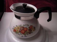Corning Ware Corelle Spice of Life Tea or by Beautyfromthepast, $15.00