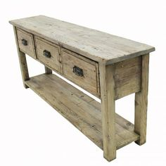 3 Drawer Console Table - Furniture Clearance - Temple and Webster