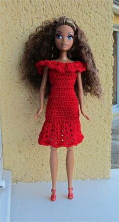 A dress for Barbie