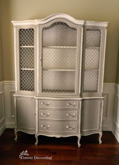 Forever Decorating!: French China Hutch!