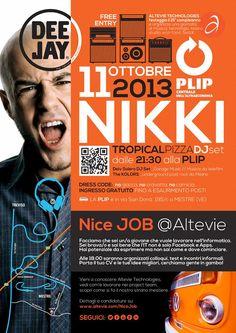 Altevie 15 Anni. Festeggia con noi venerdì 11 Ottobre 2013 alla Centrale Plip di Mestre (VE).